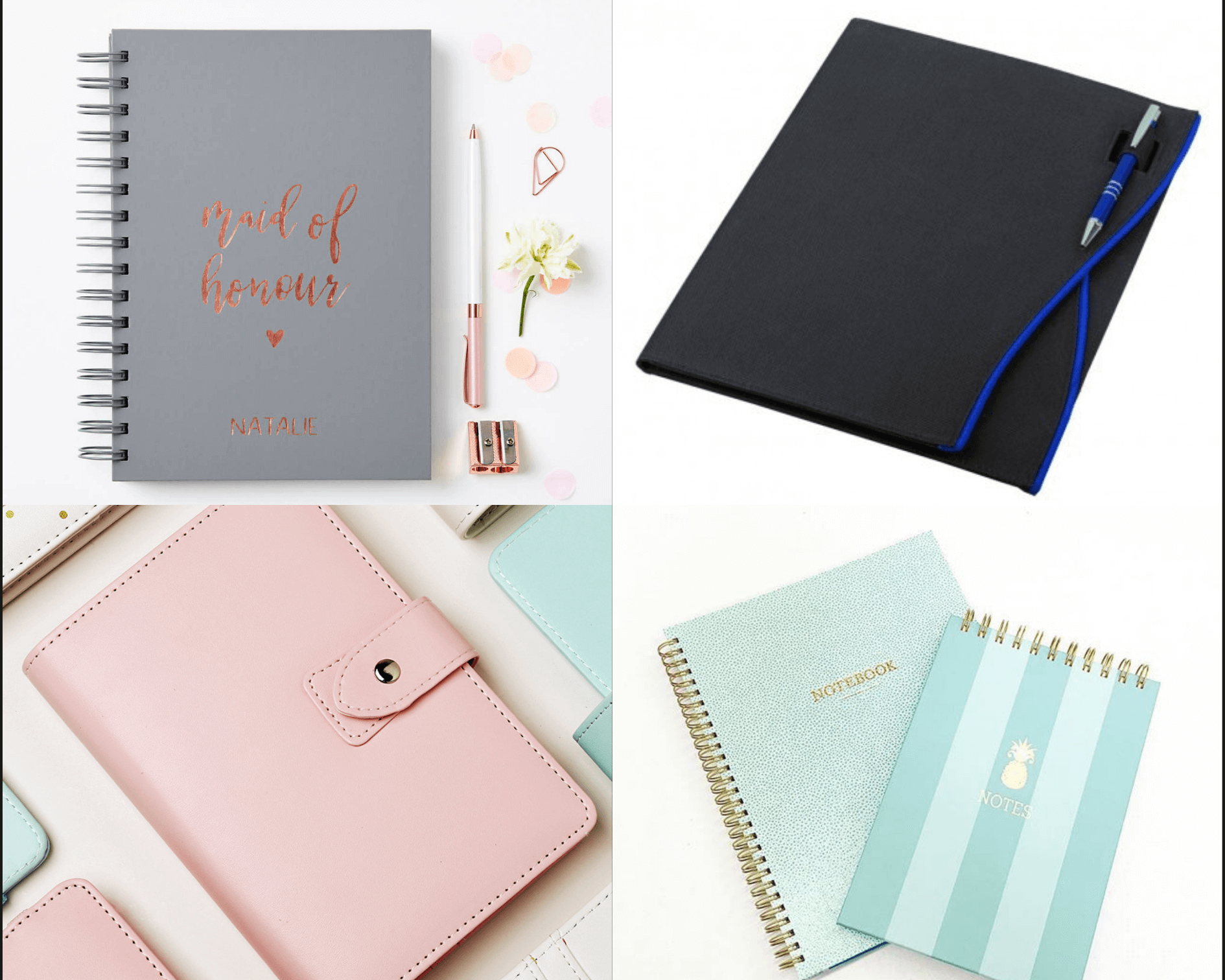 TYPES OF NOTE BOOKS