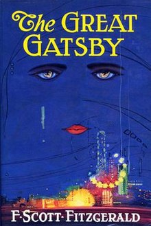 the great gatsby, a romance movie that was a book first