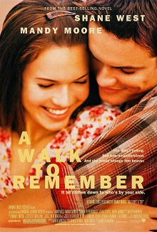 a walk to remember, a romance movie that was a book first
