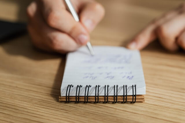 schedule your writing