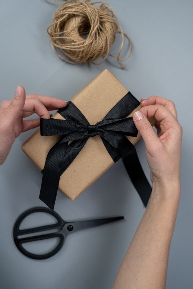 create a reward system; wrapping gifts